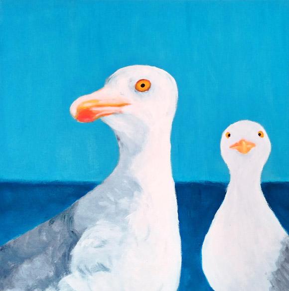 Curiozitate - tablou pictat modern