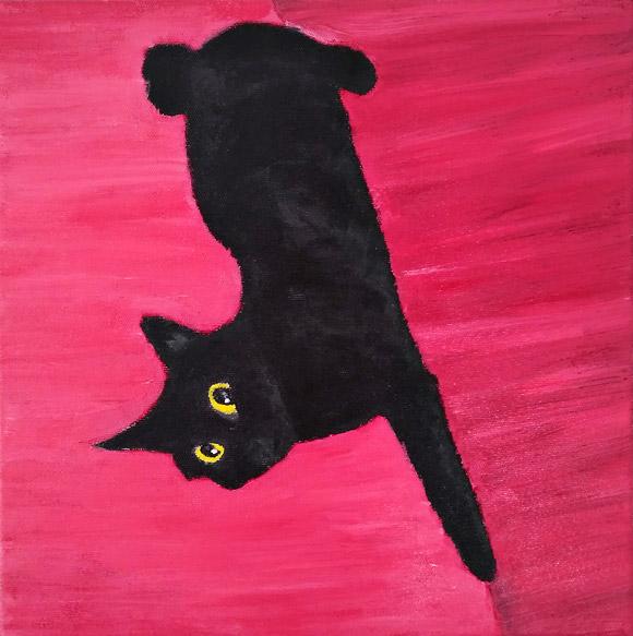 Meet Blacky - tablou acrilic